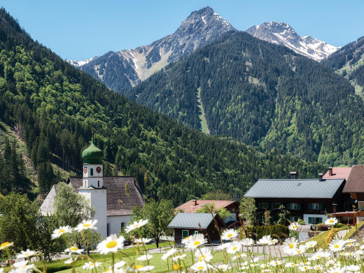 St. Gallenkirch im Sommer